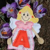 anjel v kvetoch